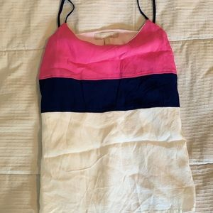 Banana Republic Color Block Tank Stop